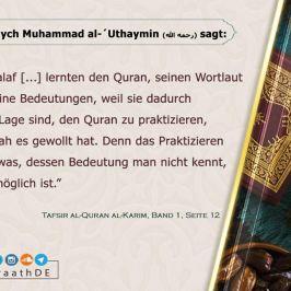 Aussagen der Salaf #07